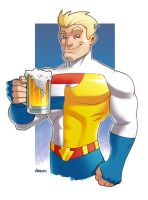 Guardian from Hero Happy Hour by D-MAC