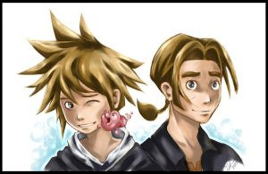 KH: Sora, Morph n Jim Hawkins by Do0dlebugdebz