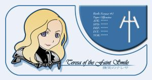 Teresa Claymore Card by niwre-san