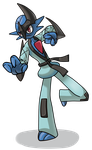 Free Pokemon Fusion Request: Sawkllade by G-creator