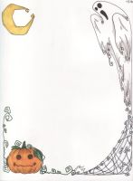 Halloween Stationary -?- by RadioactiveMuffin