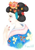 Asian Beauty by FrauV8