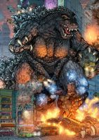 KAIJU: GOJIRA by BongzBerry