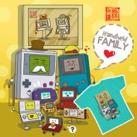 Nintendo Handheld family by Wenart