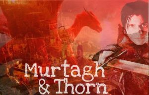 Murtagh and Thorn by Greeneyesmetblack