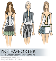 Pret-a-Porter MC: Windswept by rednotion