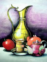 Articles Water Colour Painting by ShikharSrivastava