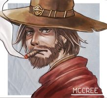 OverWatch McCree by west-24