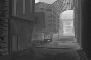 Alley (WIP) by LostDecay