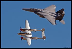 Planes of Fame Heritage III by AirshowDave