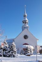 Frosted Church Stock by philippeL