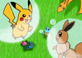 Pokemon Bubbles (OVER 2,000 WIEWS!) by MipeLaz