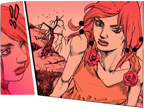 jojolion ch. 66 panel colorings by sleepypremonition