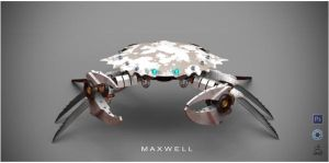 CYBER CRAB by WXKO