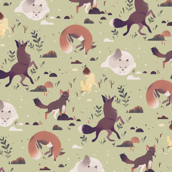 Fox Pattern by Munkell