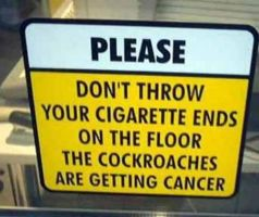 Cockroaches and Cancer by WeirdSigns401