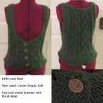 Little Lace Vest by Nerds-and-Corsets
