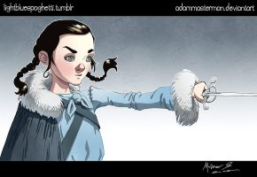 Arya of Winterfell by AdamMasterman