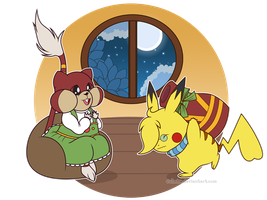 .:PKMC Emergency Delibird: Heavy Gifting:. by Volmise