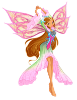 Winx Club Flora Tiefix by Forgotten-By-Gods