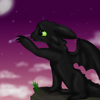 toothless fan art by ROXDragonz