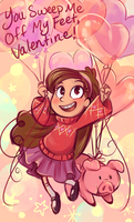 Mabel Valentine by sharkie19
