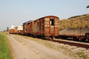 Old Railway Stock 2 by Storms-Stock