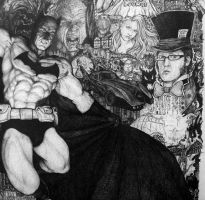 Details of Batman Collage 3 by Meador