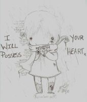 I Will Posses Your Heart by RyuBlu