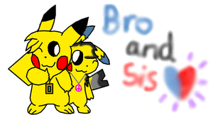 Bro and Sis by 5Coco12