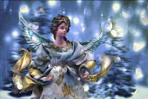 Hark! The Herald Angels Sing by hallbe