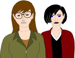 Daria and Jane Finished by DH001