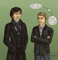SH: Happy Sherlock by Phageous