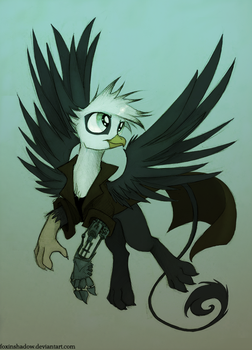 Gryphon? Gryphon by FoxInShadow