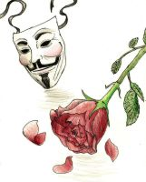 V's Rose by Casey-Dream-Theater