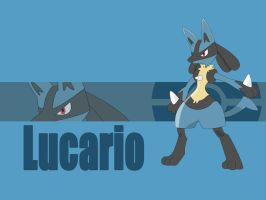 Lucario Wallpaper by starnova63