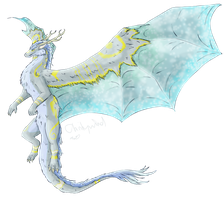 Eastern Dragon Design Commission by ClarityWind