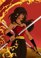The red panther by thereina