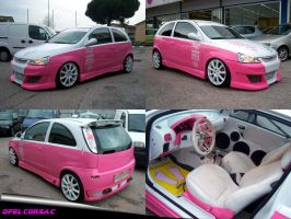 Opel Corsa C tuning by waste84