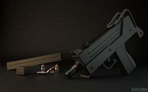 Ingram MAC-10 by jevi-infinity