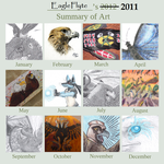 2011 Summary of Art by EagleFlyte