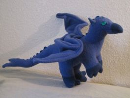 Zuth the Stuffed Dragon by Skylanth