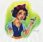 Snow White by nataliebeth