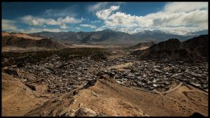 Leh from above by PasoLibre