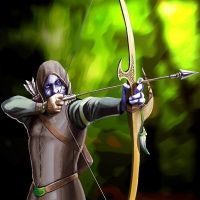 Elven Sharpshooter Guy by ra1ncloud