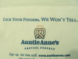 Auntie Anne's.... by CodeXANA