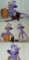 Fairy Dragoness 14inch posable doll by dot-DOLL