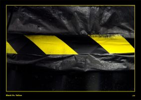 .oO  Black Vs. Yellow  Oo. by djairin