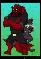 One BIG Devil Bear Brother by tarkheki