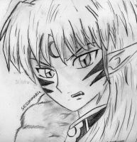 sesshomaru by spyro48cinder